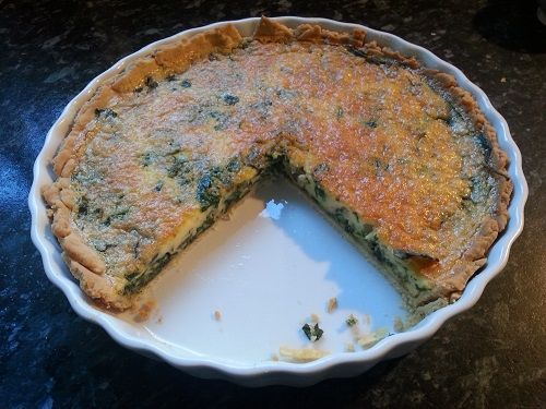 Michele's Greenery Quiche
