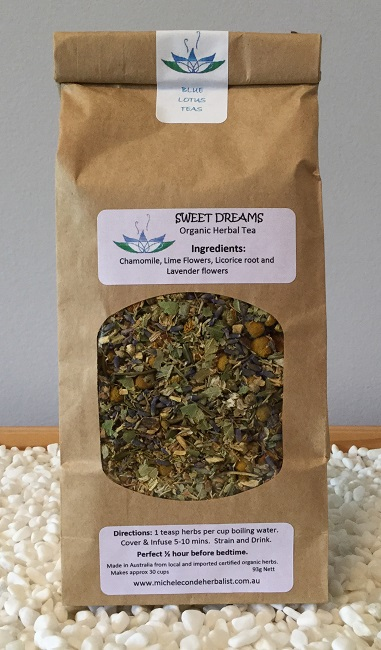 SWEET DREAMS- Organic Herbal Tea