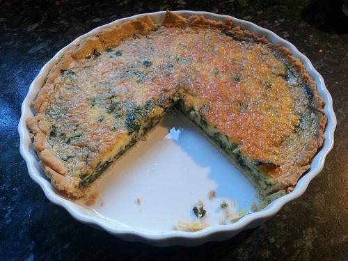 Michele's Greenery Quiche