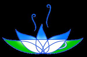 Blue Lotus herbal tea logo